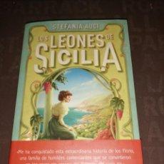 Libros de segunda mano: LOS LEONES DE SICILIA. STEFANIA AUCI.. Lote 256078890