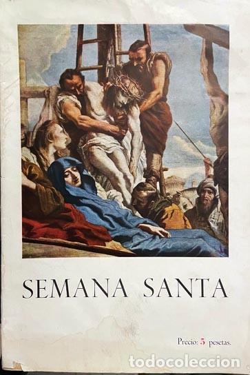 SEMANA SANTA DE MADRID 1943. (MANUEL MACHADO, MARQUINA, M. KLEISER, CONCHA ESPINA, HDAD. CRUZADOS DE (Libros de Segunda Mano - Bellas artes, ocio y coleccionismo - Otros)