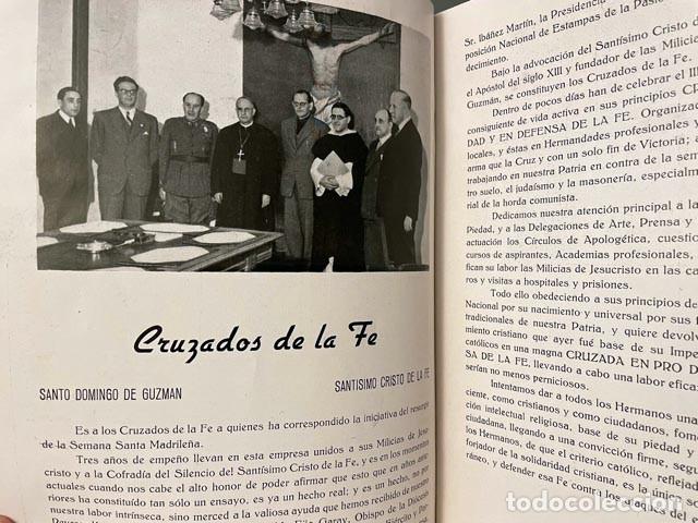 Libros de segunda mano: Semana Santa de Madrid 1943. (Manuel Machado, Marquina, M. Kleiser, Concha Espina, Hdad. Cruzados de - Foto 2 - 256170680