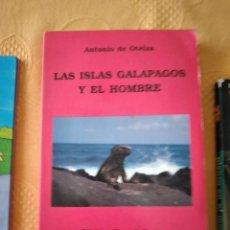 Libros de segunda mano: G-72 LIBRO LAS ISLAS GALAPAGOS Y EL HOMBRE ANTONIO DE OTEIZA EDICIONES TIERRA DE FUEGO. Lote 257303870