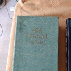 Libros de segunda mano: G-72 LIBRO VIDA CONYUGAL Y SEXUAL VALETIN MORAGAS Y DR. FEDERICO COROMINAS EDITORES DE GASSO HNOS. Lote 257304425
