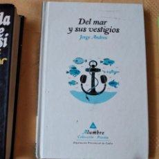 Libros de segunda mano: G-72 LIBRO DEL MAR Y SUS VESTIGIOS JORGE ANDREU DIPUTACION PROVINCIAL DE CADIZ COLECCION POESIA. Lote 257304900