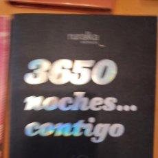 Libros de segunda mano: G-72 LIBRO 3650 NOCHES... CONTIGO 2002-2012 RURALKA HOTELES EVEREST. Lote 257313500