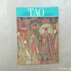Libros de segunda mano: TAO FILOSOFÍA CHINA TIEMPO CAMBIO - CHINESE PHILOSOPHY TIME CHANGE RAWSON 1973 - THAMES HUDSON -(L1). Lote 257351225