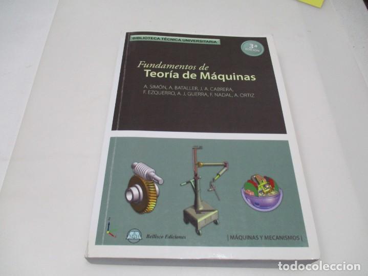 VV.AA FUNDAMENTOS DE TEORÍA DE MAQUINAS W6627 (Libros de Segunda Mano - Ciencias, Manuales y Oficios - Otros)