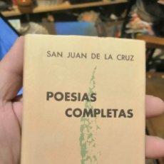 Livros em segunda mão: CRISOL 171 BIS, SAN JUAN DE LA CRUZ, AGUILAR. Lote 257404785