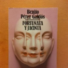 Libros de segunda mano: FORTUNATA Y JACINTA. BENITO PÉREZ GALDÓS. ALIANZA EDITORIAL. PESO - 328G. Lote 257413210