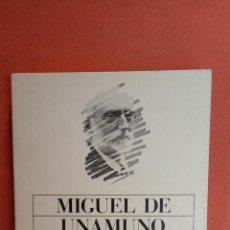 Livros em segunda mão: SAN MANUEL BUENO, MARTIR COMO SE HACE UNA NOVELA. MIGUEL DE UNAMUNO. ALIANZA EDITORIAL.. Lote 257414275