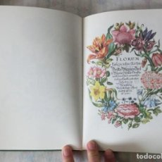 Libros de segunda mano: LIBRO DE LAS FLORES, DE MARÍA SYBILA MERIAN (S. XVII). Lote 257499510