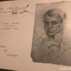 Libros de segunda mano: LIBRO 1973 SINILARITES AND CONTRASTS PICASSO DALI. Lote 257565825