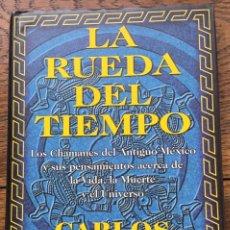 Libros de segunda mano: LA RUEDA DEL TIEMPO. CARLOS CASTANEDA. EDITORIAL GAIA. LIBRO NUEVO A ESTRENAR. Lote 257646855
