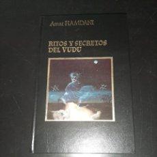 Libros de segunda mano: RITOS Y SECRETOS DEL VUDÚ. Lote 257741970