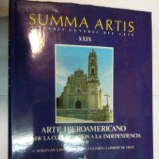 Libros de segunda mano: VV.AA SUMMA ARTIS. HISTORIA GENERAL DEL ARTE TOMO 29, SEGUNDA PARTE SA3866. Lote 257799335