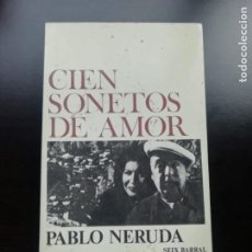 Libros de segunda mano: CIEN SONETOS DE AMOR. Lote 257826510