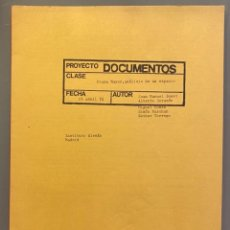 Libros de segunda mano: ALBERTO CORAZÓN. DOCUMENTOS: PLAZA MAYOR. ANÁLISIS DEL ESPACIO. 23 DE ABRIL DE 1974. Lote 257785545
