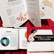 Libros de segunda mano: MAGIA CON CARTAS Y MONEDAS - ED. TIKAL - LIBRITO DE TRUCOS - 127 PAGINAS - VER FOTOS. Lote 258055550