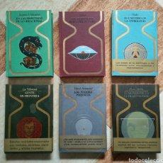 Libros de segunda mano: LOTE OTROS MUNDOS MENTE ASTROLOGÍA VIDENTE IRRACIONAL - BUEN ESTADO GENERAL DIFICIL. Lote 258118000