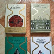 Libros de segunda mano: LOTE OTROS MUNDOS CATEDRALES CONDE SAINT GERMAIN CATARO DUEÑOS MUNDO - BUEN ESTADO GENERAL DIFICIL. Lote 258119385