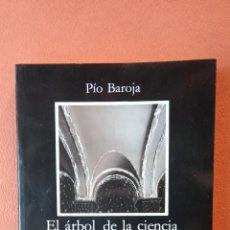 Livros em segunda mão: EL ÁRBOL DE LA CIENCIA. PÍO BAROJA. EDICIONES CATEDRA, S.A.. Lote 258510745