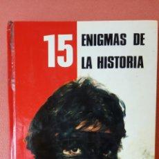Libri di seconda mano: 15 ENIGMAS DE LA HISTORIA. EDITORIAL FHER, S.A.. Lote 258511185