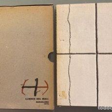 Libros de segunda mano: JOAN BROSSA. NOVEL.LA. 31 LITOGRAFIES ORIGINALS DE ANTONI TÀPIES. EDICIÓ FÁCSÍMIL.. Lote 258929745