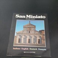 Libros de segunda mano: SAN MINIATO. Lote 259883800