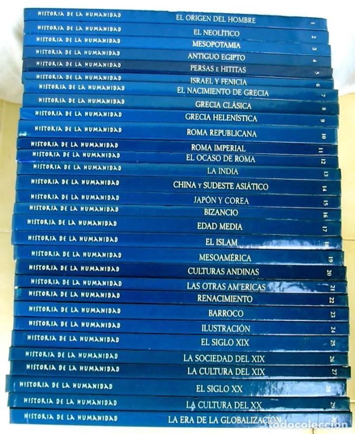 Libros de segunda mano: HISTORIA DE LA HUMANIDAD - COMPLETA 30 TOMOS - ED. ARLANZA 2000 - VER DESCRIPCIÓN Y FOTOS - Foto 2 - 259906465