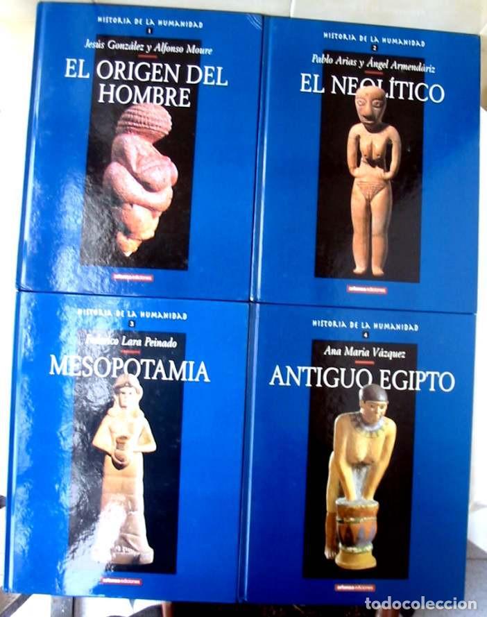 Libros de segunda mano: HISTORIA DE LA HUMANIDAD - COMPLETA 30 TOMOS - ED. ARLANZA 2000 - VER DESCRIPCIÓN Y FOTOS - Foto 3 - 259906465