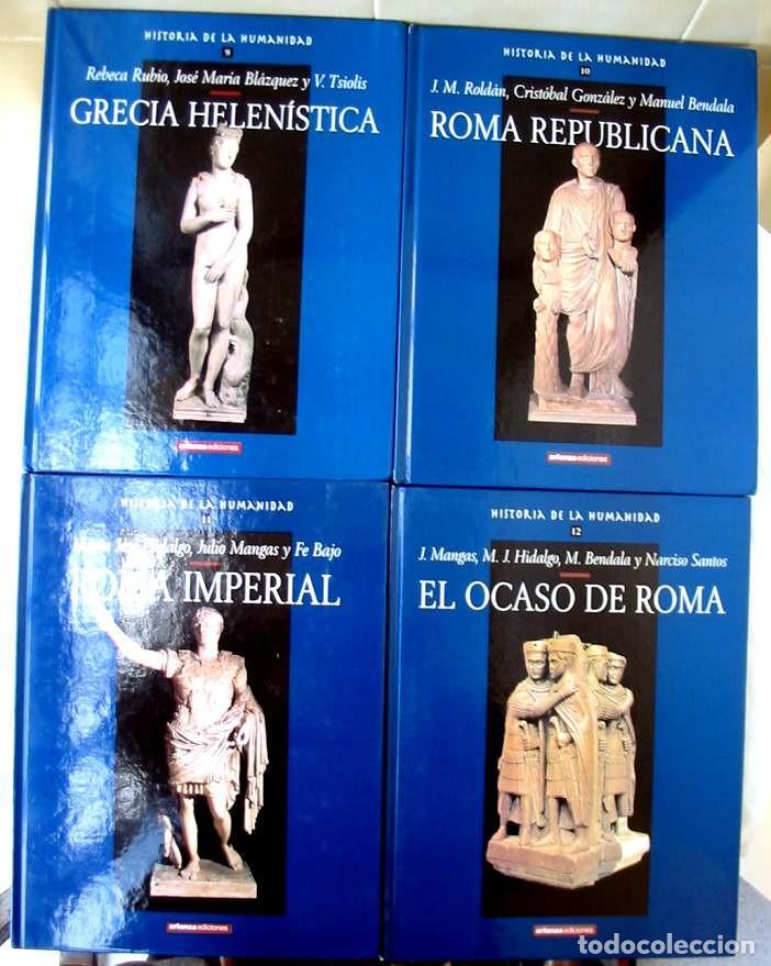 Libros de segunda mano: HISTORIA DE LA HUMANIDAD - COMPLETA 30 TOMOS - ED. ARLANZA 2000 - VER DESCRIPCIÓN Y FOTOS - Foto 5 - 259906465