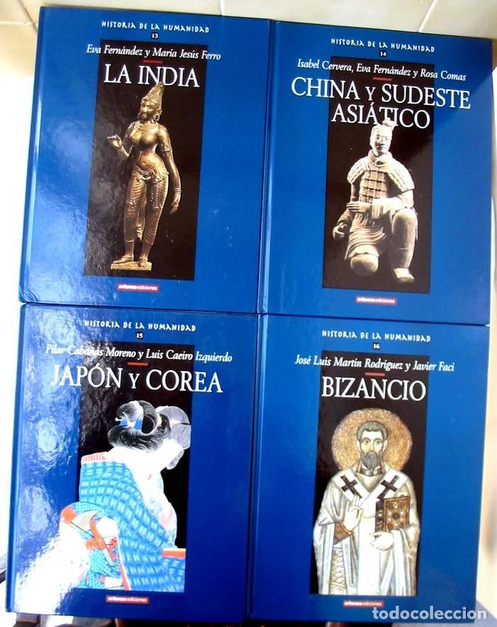 Libros de segunda mano: HISTORIA DE LA HUMANIDAD - COMPLETA 30 TOMOS - ED. ARLANZA 2000 - VER DESCRIPCIÓN Y FOTOS - Foto 6 - 259906465
