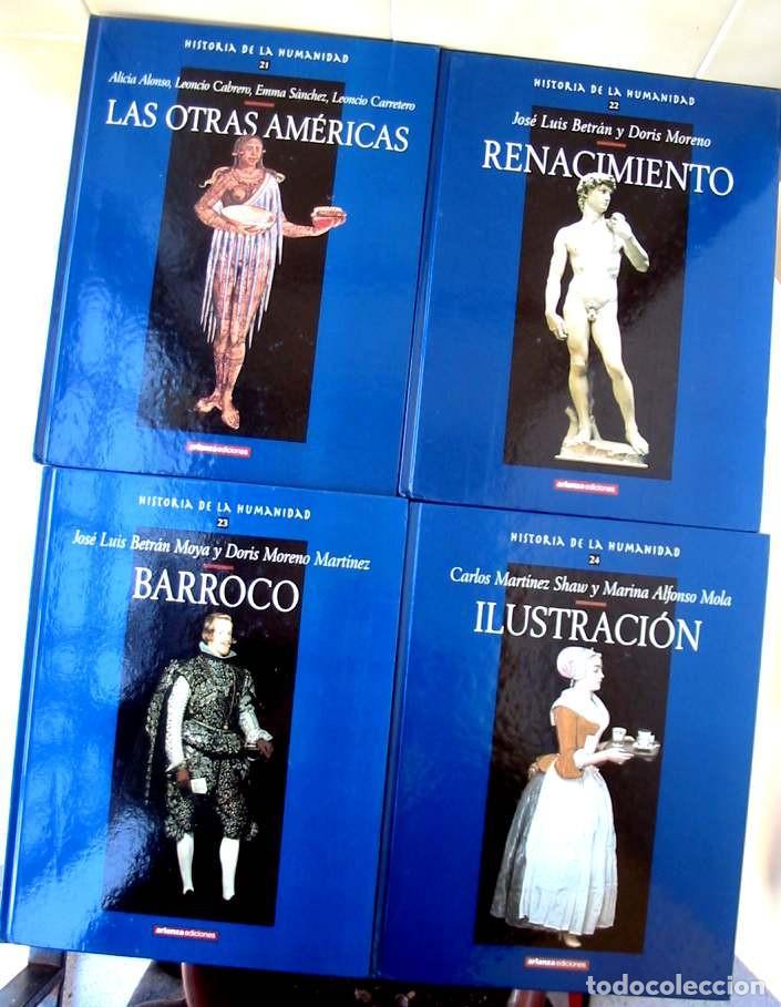 Libros de segunda mano: HISTORIA DE LA HUMANIDAD - COMPLETA 30 TOMOS - ED. ARLANZA 2000 - VER DESCRIPCIÓN Y FOTOS - Foto 8 - 259906465