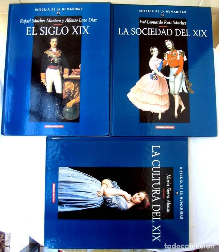 Libros de segunda mano: HISTORIA DE LA HUMANIDAD - COMPLETA 30 TOMOS - ED. ARLANZA 2000 - VER DESCRIPCIÓN Y FOTOS - Foto 9 - 259906465