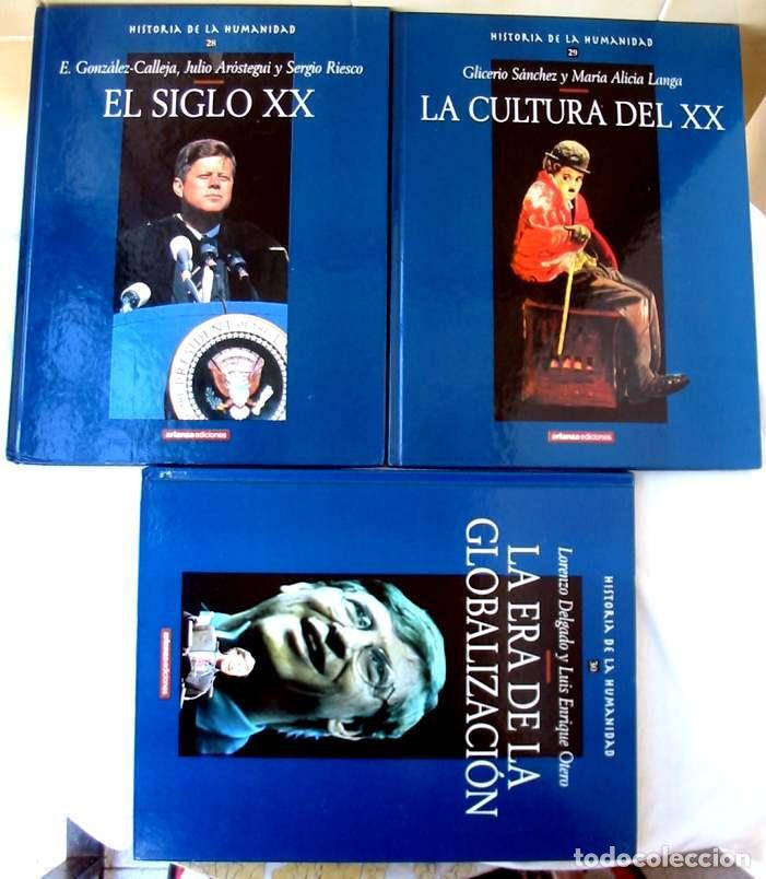 Libros de segunda mano: HISTORIA DE LA HUMANIDAD - COMPLETA 30 TOMOS - ED. ARLANZA 2000 - VER DESCRIPCIÓN Y FOTOS - Foto 10 - 259906465