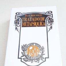 Libros de segunda mano: CHARLES RICHET TRATADO DE METAPSIQUICA ESPIRITISMO PARAPSICOLOGIA FANTASMAS. Lote 279590578