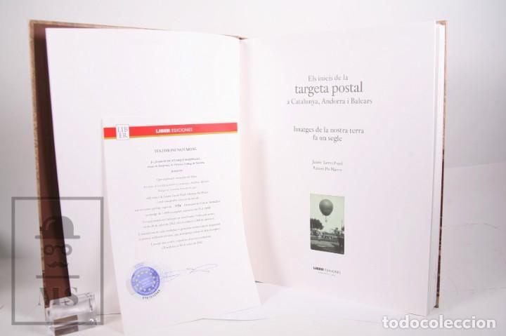 Libros de segunda mano: Libro Gran Formato - El Inicis de la Targeta Postal a Catalunya, Andorra i Balears - Ed. Liber 2012 - Foto 2 - 260065520