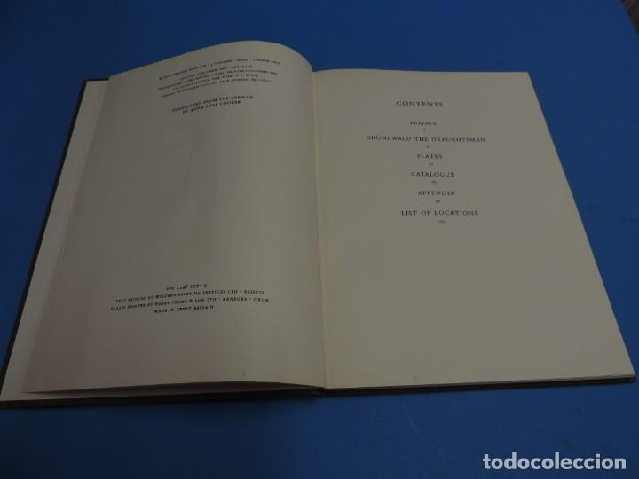 Libros de segunda mano: GRÜNEWALD DRAWINGS. COMPLETE EDITION.- Eberhard Ruhmer - Foto 4 - 260089470