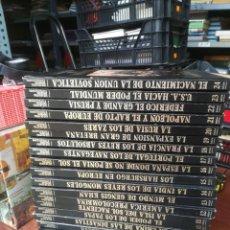 Libros de segunda mano: LOS GRANDES IMPERIOS Y CIVILIZACIONES - SARPE - 24 TOMOS. Lote 260267255