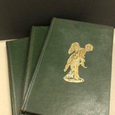 Livros em segunda mão: LOTE 3 LIBROS PARA COLECCIONISMO DE RELOJES DE BOLSILLO,SELLOS Y ESCULTURAS ANTIGUAS. Lote 260283435