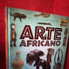 Libri di seconda mano: ATLAS ILUSTRADO ARTE AFRICANO SUSAETA . COMO NUEVO. Lote 260398170