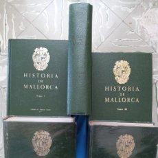 Libros de segunda mano: HISTORIA DE MALLORCA - 5 TOMOS - 1ERA EDICIÓN. Lote 260705220