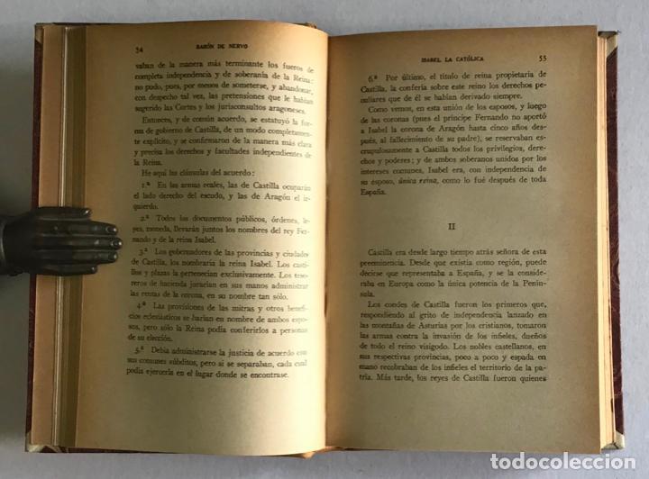 Libros de segunda mano: LA ESPAÑA IMPERIAL. ISABEL LA CATÓLICA. - NERVO, Barón de. - Foto 4 - 123223106