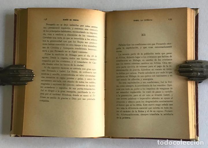 Libros de segunda mano: LA ESPAÑA IMPERIAL. ISABEL LA CATÓLICA. - NERVO, Barón de. - Foto 5 - 123223106