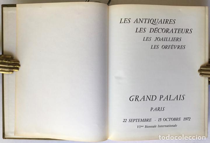 Libros de segunda mano: LES ANTIQUAIRES, LES DÉCORATEURS, LES JOAILLIERS, LES ORFÈVRES. Grand Palais. Paris 22 septembre... - Foto 2 - 260812680
