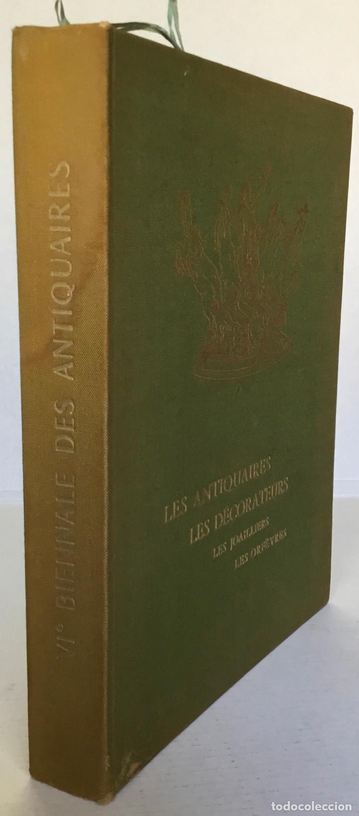 Libros de segunda mano: LES ANTIQUAIRES, LES DÉCORATEURS, LES JOAILLIERS, LES ORFÈVRES. Grand Palais. Paris 22 septembre... - Foto 9 - 260812680