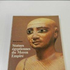 Libros de segunda mano: ELISABETH DELANGE. MUSEE DU LOUVRE. CATALOGUE DES STATUES EGYPTIENNES DU MOYEN EMPIRE 2060-1560 AC. Lote 261112340