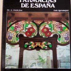 Libros de segunda mano: LIBRO FARMACIAS DE ESPAÑA. ILUSTRADO . ALEMAN Y CASTELLANO. Lote 261118500
