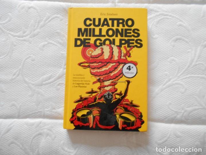 LIBRO DE CUATRO MILLONES DE GOLPES DE ERIC JIMENEZ (Libros de Segunda Mano - Bellas artes, ocio y coleccionismo - Otros)