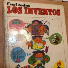 Libros de segunda mano: CASI TODOS LOS INVENTOS - 1973 ED. PAULINAS. Lote 261132770