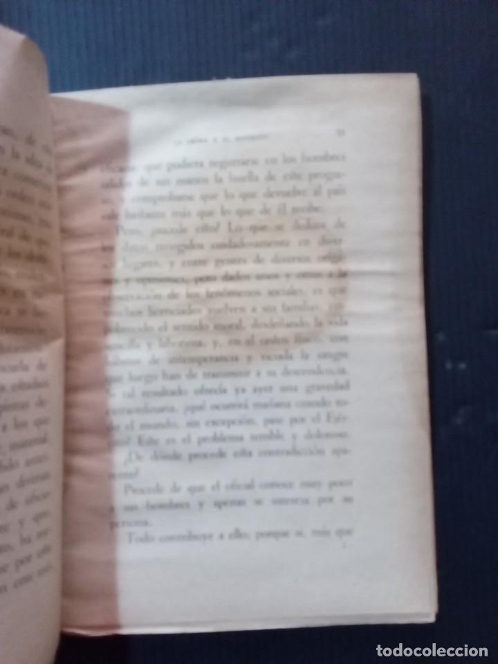 Libros de segunda mano: La letra y el Espíritu.Mariscal Liautey.1940. - Foto 4 - 261153225