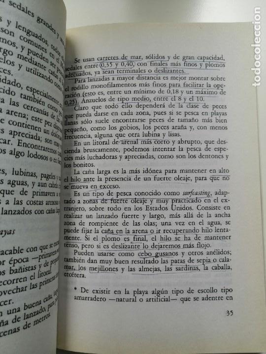 Libros de segunda mano: 100 TRUCOS DEL PESCADOR DE MAR - EQUIPO DE EXPERTOS CIENTIPESCA. EDITORIAL VECCHI 1992 - Foto 4 - 261153335